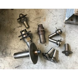 Stock materiale da meccanica